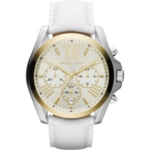 Michael Kors MK2282 Horlogeband Wit Leer