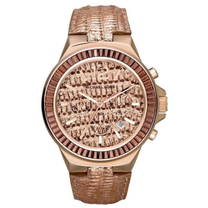 Michael Kors MK2305 Horlogeband Rosé Goud Leer