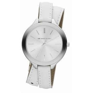 Michael Kors MK2325 Horlogeband Wit Leer