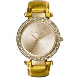 Michael Kors MK2351 Horlogeband Goud Leer