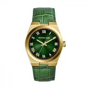 Michael Kors MK2356 Horlogeband Groen Leer