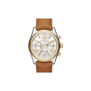 Michael Kors MK2420 Horlogeband Bruin Leer