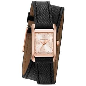 Michael Kors MK2442 Horlogeband Zwart Leer