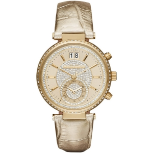 Michael Kors MK2444 Horlogeband Goud Leer