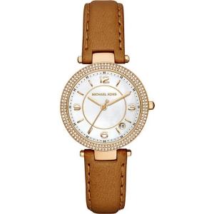Michael Kors MK2464 Horlogeband Bruin Leer