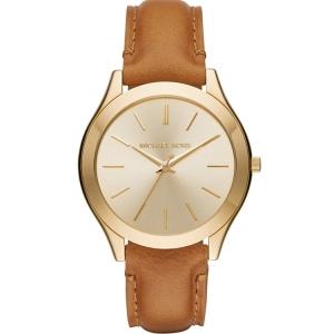 Michael Kors MK2465 Horlogeband Bruin Leer