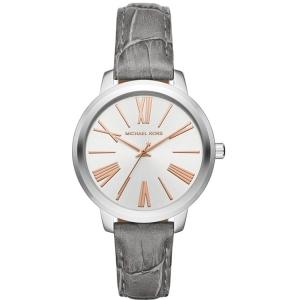 Michael Kors MK2479 Horlogeband Grijs Leer