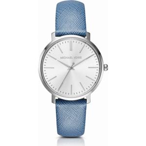 Michael Kors MK2495 Horlogeband Blauw Leer