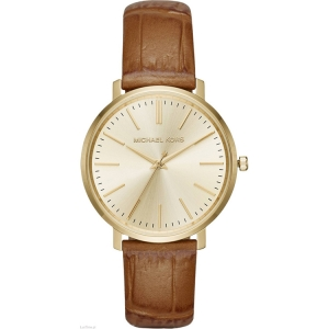 Michael Kors MK2496 Horlogeband Bruin Leer