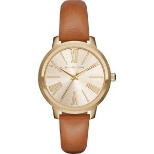 Michael Kors MK2521 Horlogeband Bruin Leer