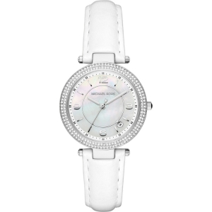 Michael Kors MK2541 Horlogeband Wit Leer