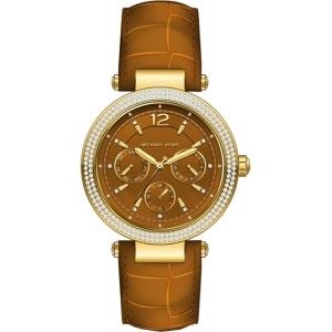 Michael Kors MK2546 Horlogeband Bruin Leer
