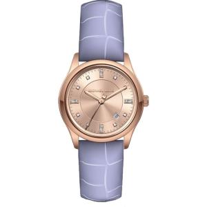 Michael Kors MK2550 Horlogeband Paars Leer