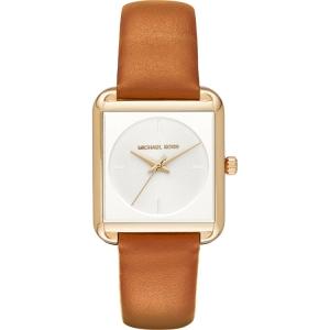 Michael Kors MK2584 Horlogeband Zwart Leer