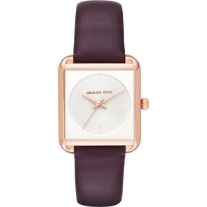Michael Kors MK2585 Horlogeband Paars Leer
