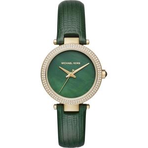 Michael Kors MK2592 Horlogeband Groen Leer