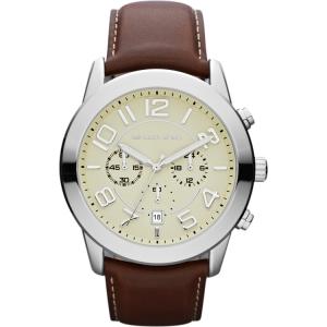 Michael Kors MK8292 Horlogeband Bruin Leer