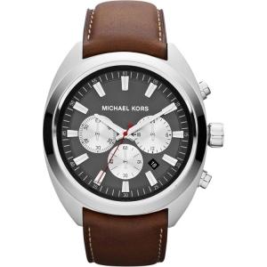 Michael Kors MK8294 Horlogeband Bruin Leer