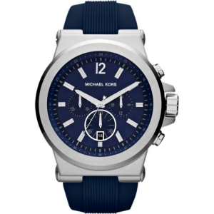 Michael Kors MK8303 Horlogeband Blauw Rubber