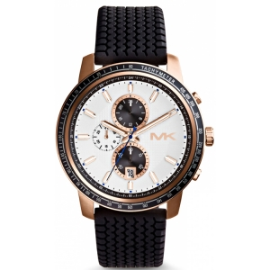 Michael Kors MK8343 Horlogeband Zwart Rubber