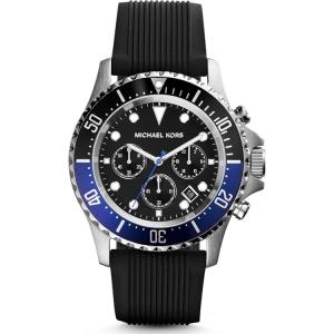 Michael Kors MK8365 Horlogeband Zwart Rubber