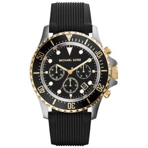 Michael Kors MK8366 Horlogeband Zwart Rubber