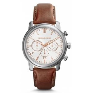 Michael Kors MK8372 Horlogeband Bruin Leer