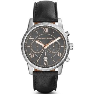 Michael Kors MK8393 Horlogeband Zwart Leer