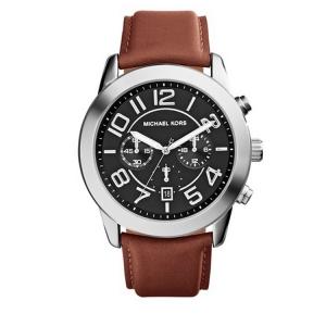 Michael Kors MK8359 Horlogeband Bruin Leer