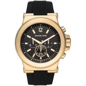 Michael Kors MK8445  Horlogeband Zwart Rubber