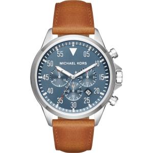 Michael Kors MK8490 Horlogeband Bruin Leer