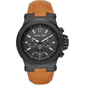 Michael Kors MK8512 Horlogeband Bruin Leer
