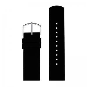 Picto Horlogebandje Zwart Rubber 43370 - 20mm