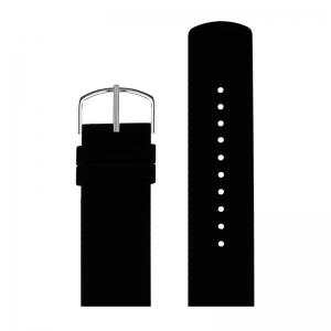 Picto Horlogebandje Zwart Rubber 43371 - 22mm