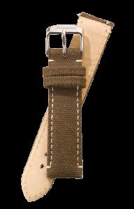 Fromanteel Canvas Horlogeband Bruin