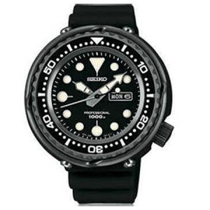 Seiko Prospex Horlogeband SBBN011 Zwart Rubber