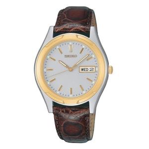 Seiko Horlogeband SGF578 Bruin Leer