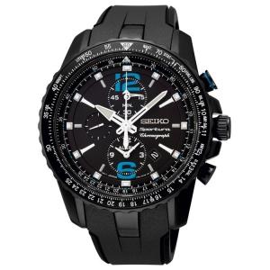 Seiko Sportura Horlogeband SNAF25 Zwart Rubber