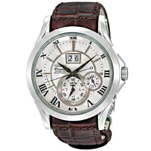 Seiko Premier Horlogeband SNP023P1 Bruin Leer