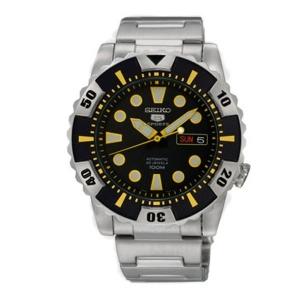 Seiko 5 Sports Horlogeband SNZJ13K1 SNZJ15K1 Roestvrij Staal
