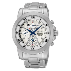 Seiko Premier Horlogeband SPC159 Roestvrij Staal