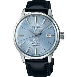 Seiko Presage Automatic Horlogeband SRPB43 Zwart Leer