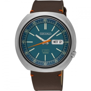 Seiko Recraft Automatic Horlogeband SRPC13K1 Bruin Leer