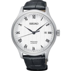 Seiko Presage Automatic Horlogeband SRPC83 Zwart Leer