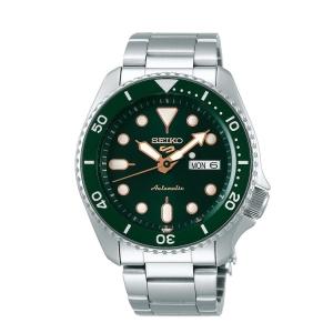 Seiko 5 Sports Horlogeband SRPD63K1 Roestvrij Staal 22mm