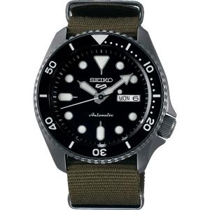 Seiko 5 Sports Horlogeband SRPD65 Legergroen Nato 22mm