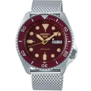 Seiko 5 Sports Horlogeband SRPD69 Zilver Mesh/Milanese 22mm