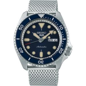 Seiko 5 Sports Horlogeband SRPD71 Zilver Mesh/Milanese 22mm