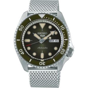 Seiko 5 Sports Horlogeband SRPD75 Zilver Mesh/Milanese 22mm