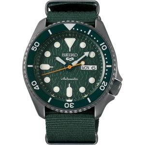 Seiko 5 Sports Horlogeband SRPD77 Groen Nato 22mm
